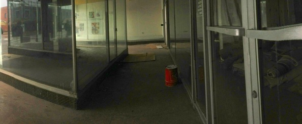 Downtown Alcove for Homeless Squatters