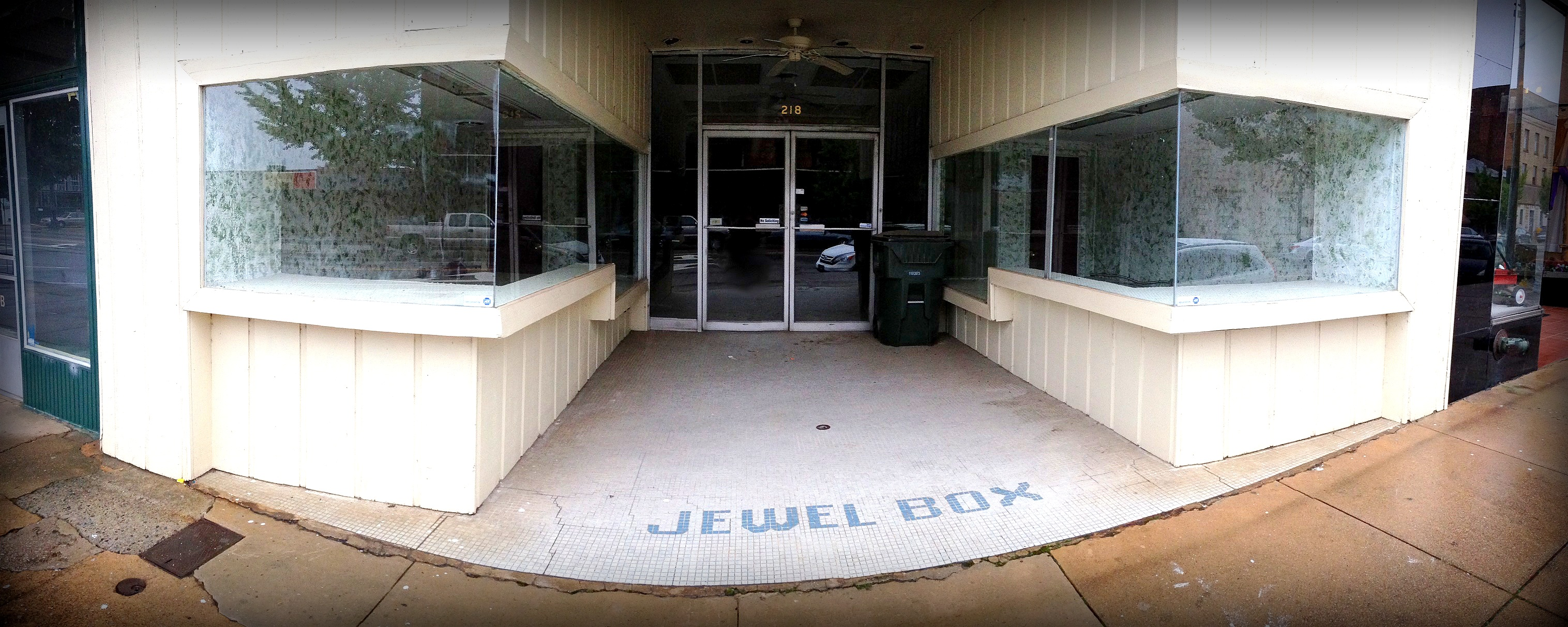 Jewel Box Abandoned Store Front