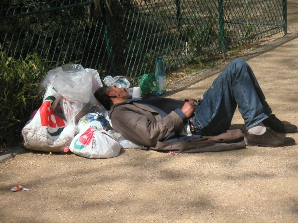 Homeless in the Park