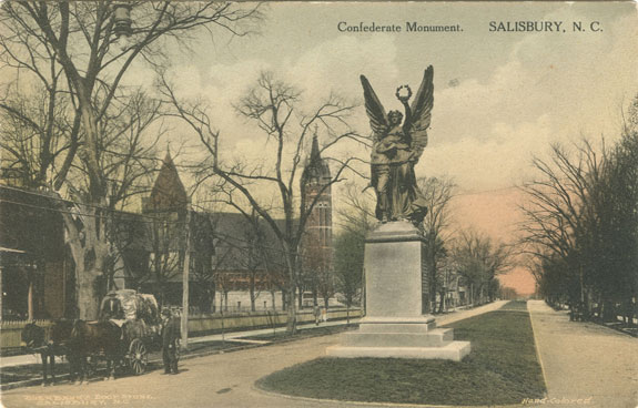Confederate Monument Postcard