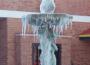 Frozen Fountain at Salisbury Mall