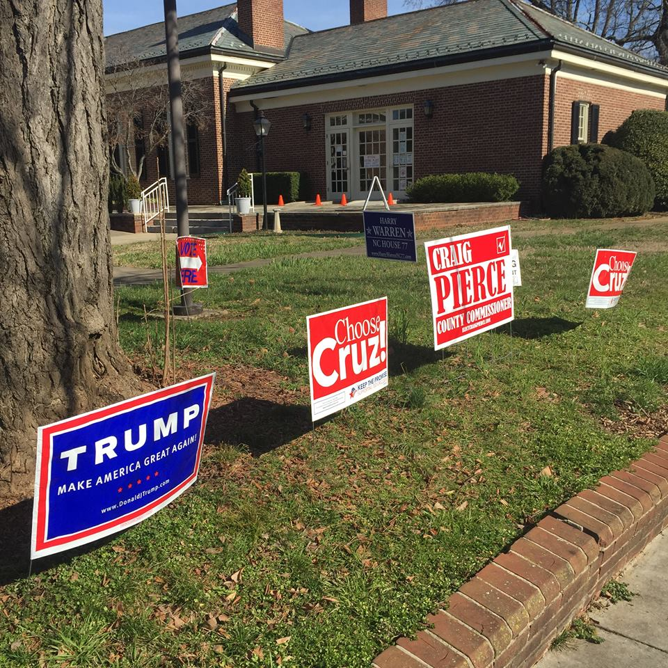 """Slim Voter Turnout at Rowan County Polls This A.M. """"Jailhouse ..."""