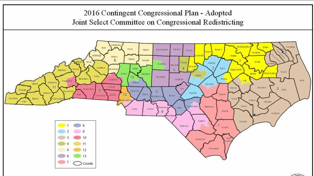 Sample Ballots For NC 8th And 13th Congressional