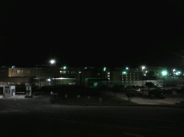 Central Prison Raleigh at Night