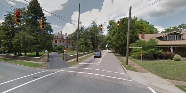 Corner of Monroe and Fulton