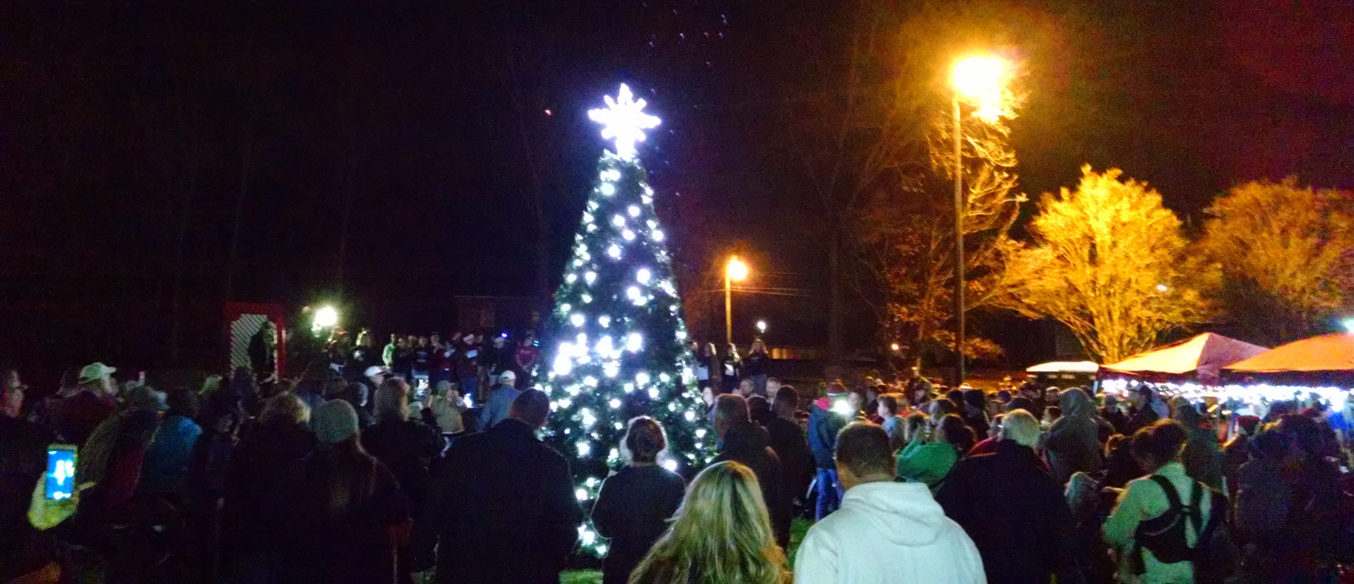 The crowd continued to swell through the Christmas festivities in China Grove & Rep. Carl Ford and Commissioner Craig Pierceu0027s Big Adventure at ... azcodes.com